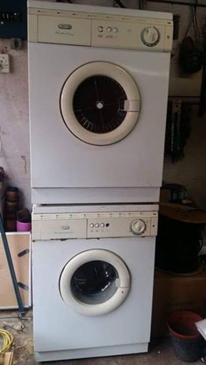 Defy tumble drier and washing machine