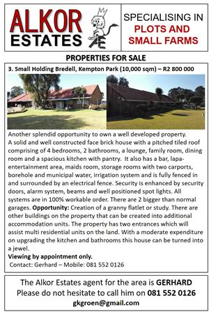 GREAT PROPERTIES WITH GREAT INCOME OPPORTUNITIES FOR SALE
