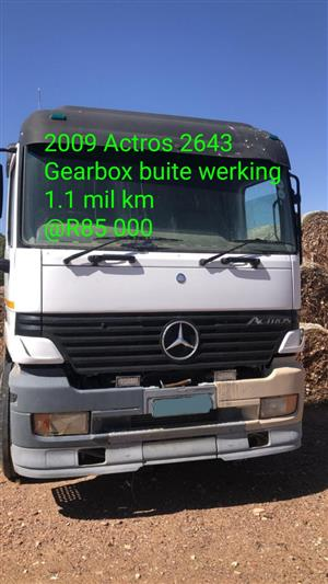 2009 Actros 2643