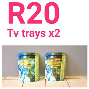 TV TRAYS (2)