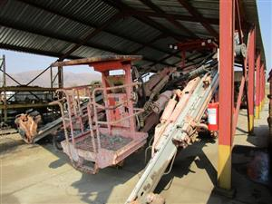 Sandvik DT720, Double Boom and Cage Drill Rig - ON AUCTION