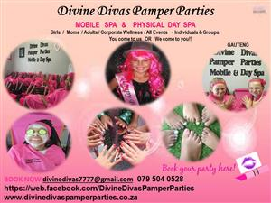 Best Pamper Parties in SA since 2012 - Book with the Pro's