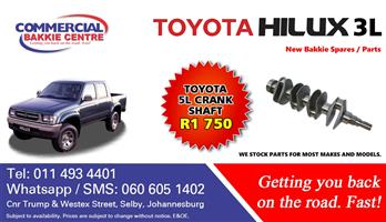 toyota hilux 5l crank shaft