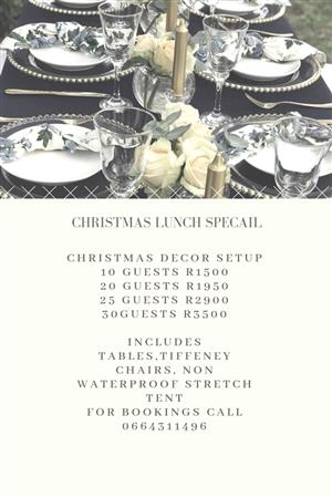 Christmas lunch special