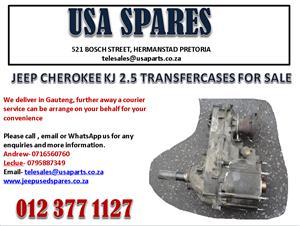JEEP CHEROKEE 2.5 KJ TRANSFER CASE FOR SALE.