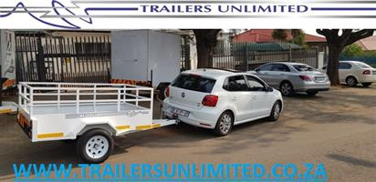 THE  UTILITY TRAILERS UNLIMITED FROM R11 500. 2500 X 1400 X 900. TRAILERS UNLIMITED.