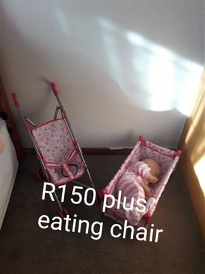 Baby toy set for sale