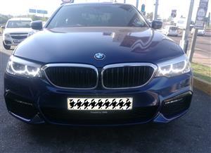 2017 BMW 5 Series sedan 520d M SPORT A/T (G30)