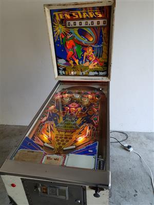Pinball Machine Ten Stars