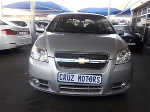 2015 Chevrolet Aveo 1.6 LS sedan automatic