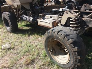 UNIMOG / BUFFEL STRIPPING FOR SPARES
