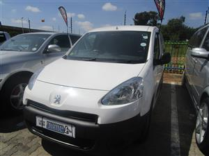 2012 Peugeot Partner 1.6