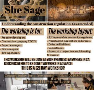 Construction Regulation Workshop