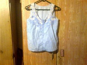 Blue summer top for sale