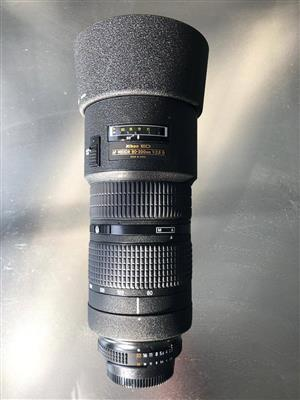 Nikon 70-200mm F2.8 Lens