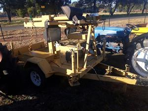Light system and Generator Trailer,construction