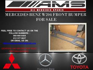 MERCEDES BENZ W204 FRONT BUMPER FOR SALE