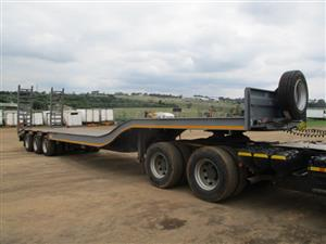 2019 UBT TRI AXLE STEPDECK LOWBED