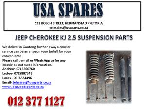 JEEP CHEROKEE KJ 2.5 SUSPENSION PARTS FOR SALE