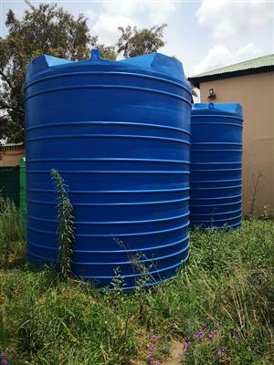 2x 20 000L water tanks