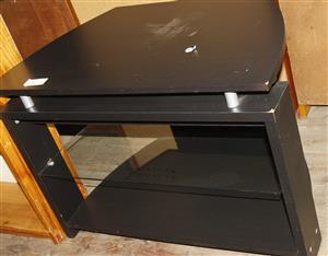S034519B Black tv stand #Rosettenvillepawnshop