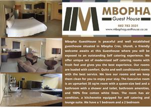Mbopha Guesthouse