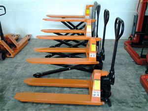 NEW HIGH LIFT 1.0 TON PALLET TRUCK (JACK) FOR SALE
