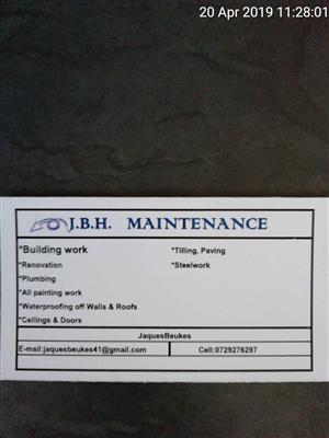 J.B.H. Maintenance