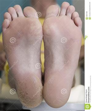 Beautiful, silky smooth feet