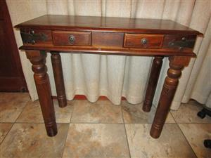A CUTE SOLID WOOD ENTRANCE TABLE for sale