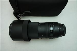 Sigma 150-600mm Lens – F5-6.3 DG OS HSM for Canon LIKE NEW
