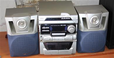 JVC sound system S032480B #Rosettenvillepawnshop
