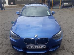 2013 BMW 1 Series 118i 5 door M Sport auto