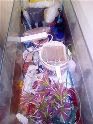 160L fish tank with accessories