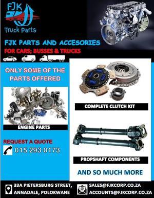 FJK Truck Parts Limpopo