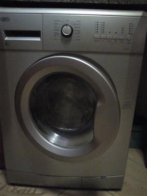 6kg Defy front loader washing machine for sale