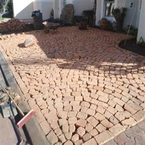 UNIQUE HALF BRICK PAVING SUPPLY AND INSTALLATION