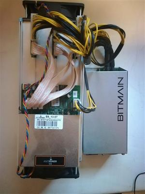 Antminer S9 14.5TH/s WITH Power supply