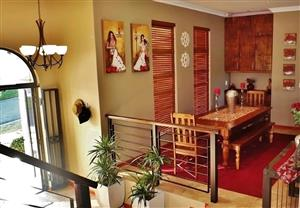 Beautiful custom made dining room suite