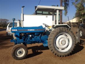 S3390 Blue Ford 6610 61kW/80Hp 2x4 Pre-Owned Tractor
