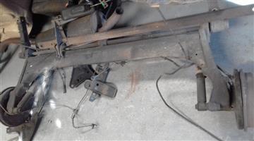 1999 renault scenic rear axle