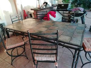 CAST IRON PATIO SET – R4000