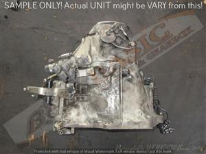 CITROEN 10JBBA 2X4 MANUAL FWD Gearbox