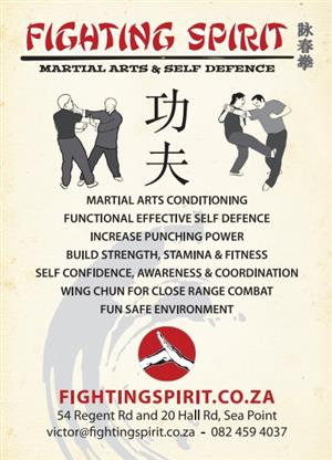 FIGHTING SPIRIT SELF DEFENCE MARTIAL ARTS CLUB