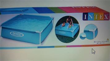 INTEX outdoor pool