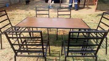Steel garden sets for children