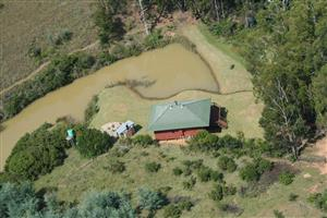Magnificent 103 hectares farm situated in Waterval Boven , currently used as Blaauwbosch Trout Inn.