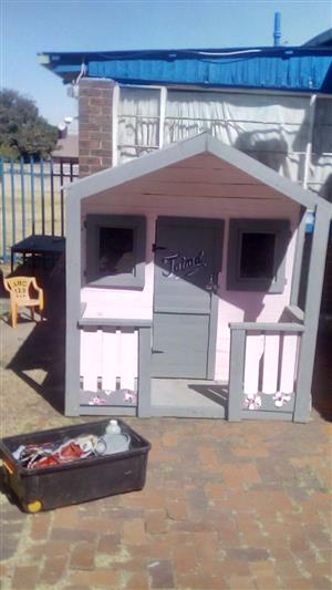 Custom built Kids playhouses
