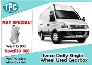 Iveco Daily Single Wheel Used Gearbox For Sale at TPC