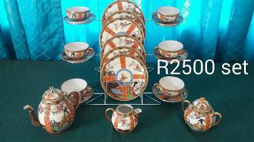 Complete tea set for sale